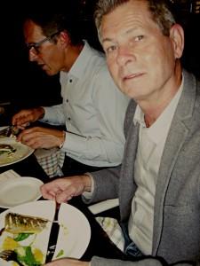 Thomas Breed på middagen på affärsnätverket