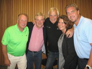 Anton, Birger, Curre, Marie och Tommy Salo